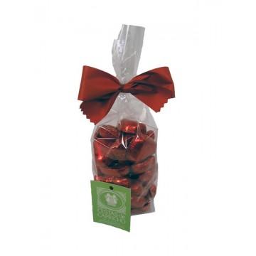 Bolsa corazones chocolate